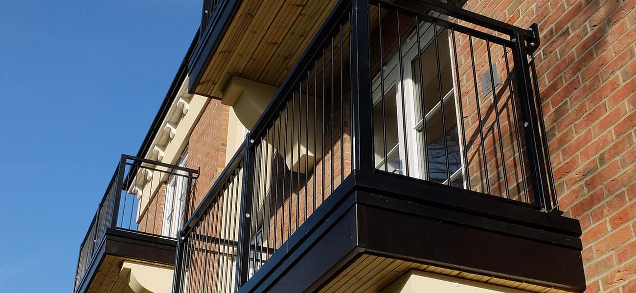 Tremlings park case study image of balconies