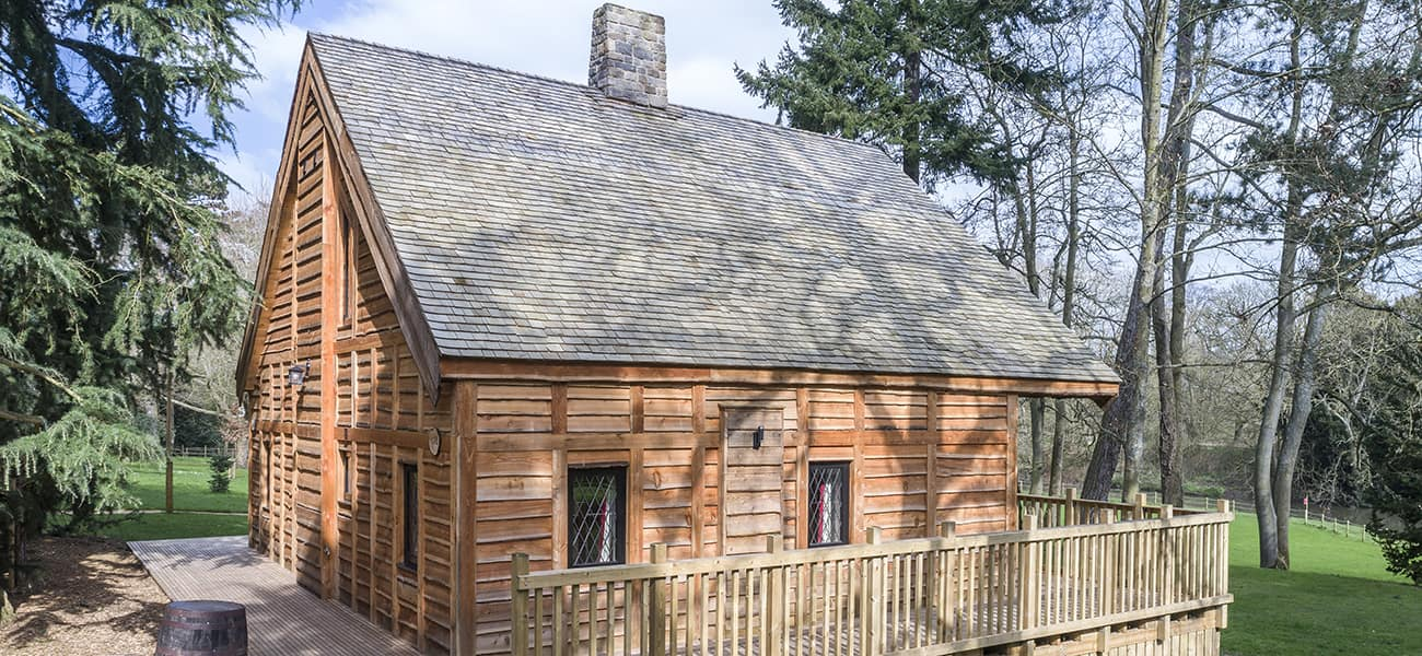 the benefits of timber cedar shingles from Marley Ltd used fro building envelope