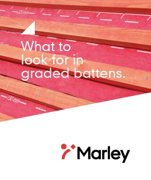 What to look for in graded battens brochure cover