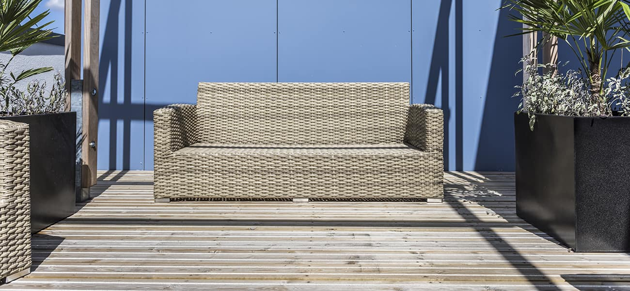 CitiDeck Decking George House case study image of a couch