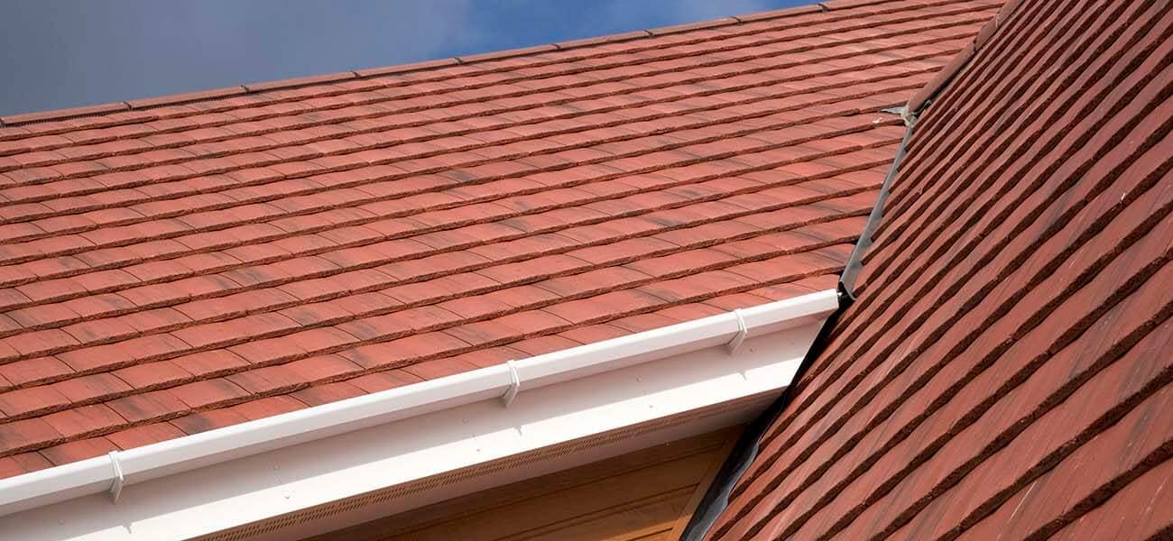 Marley roof tile on housing project