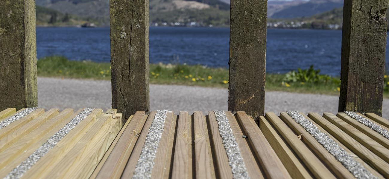 Anti slip decking from Marley Ltd explained