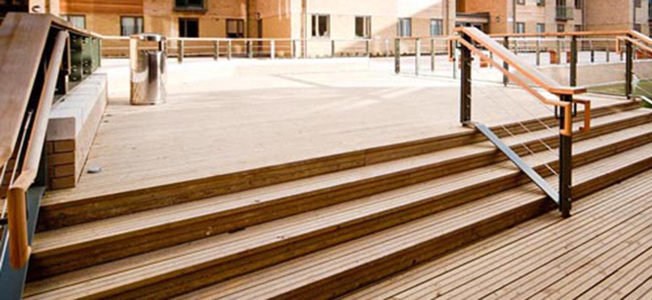 Ocford brookes decking case study of antislip plus decking