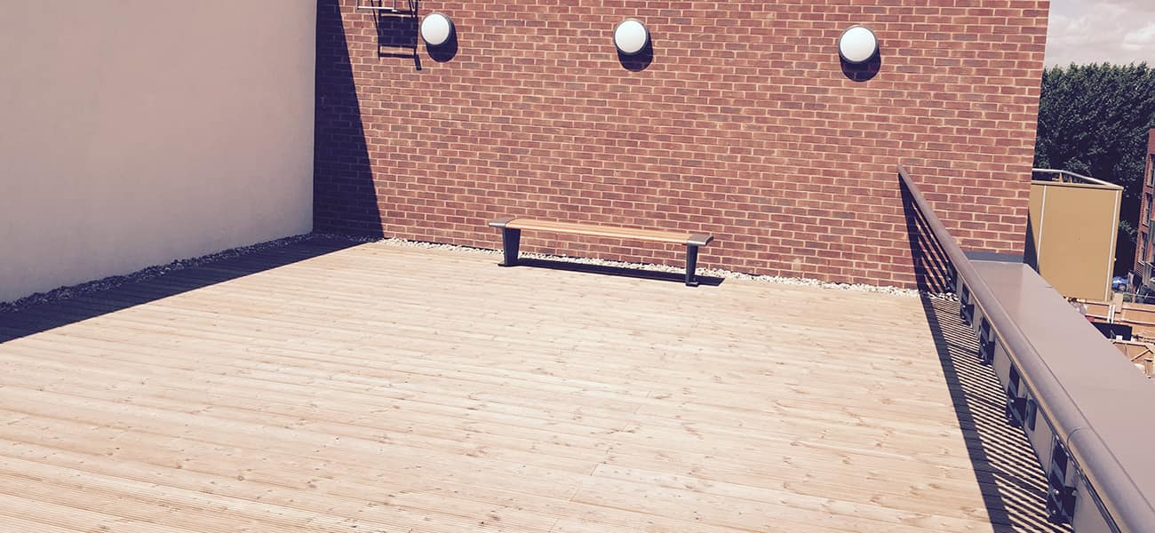 Decking standard case study of Edmund street