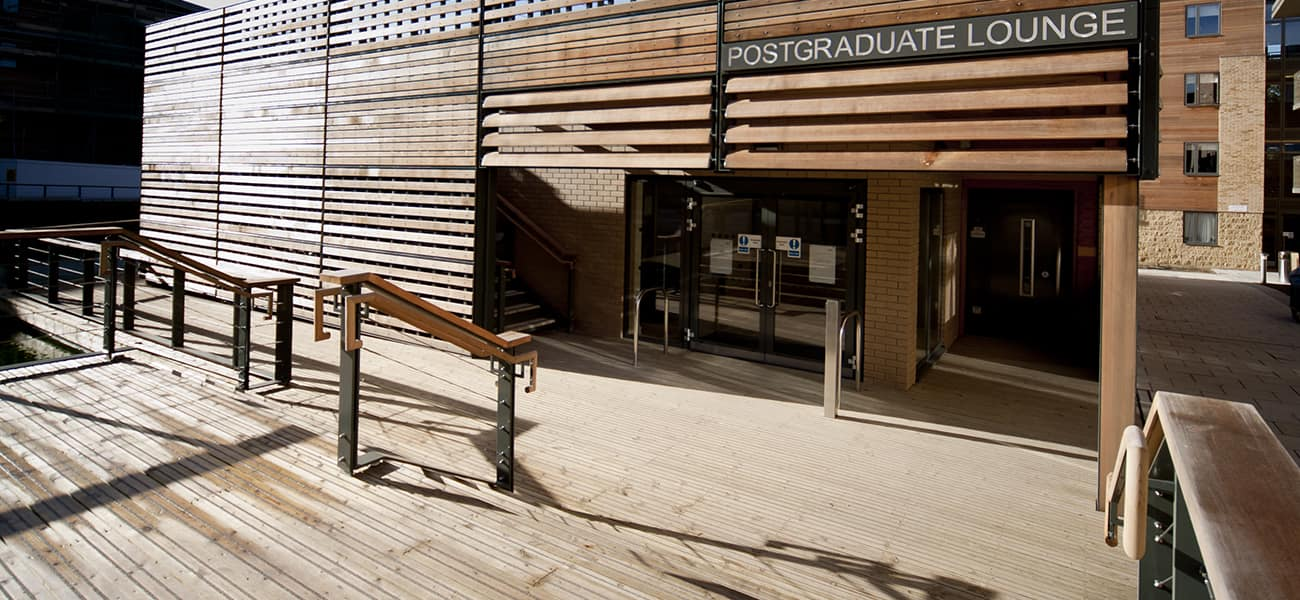 Marley decking used in Oxford Brookes