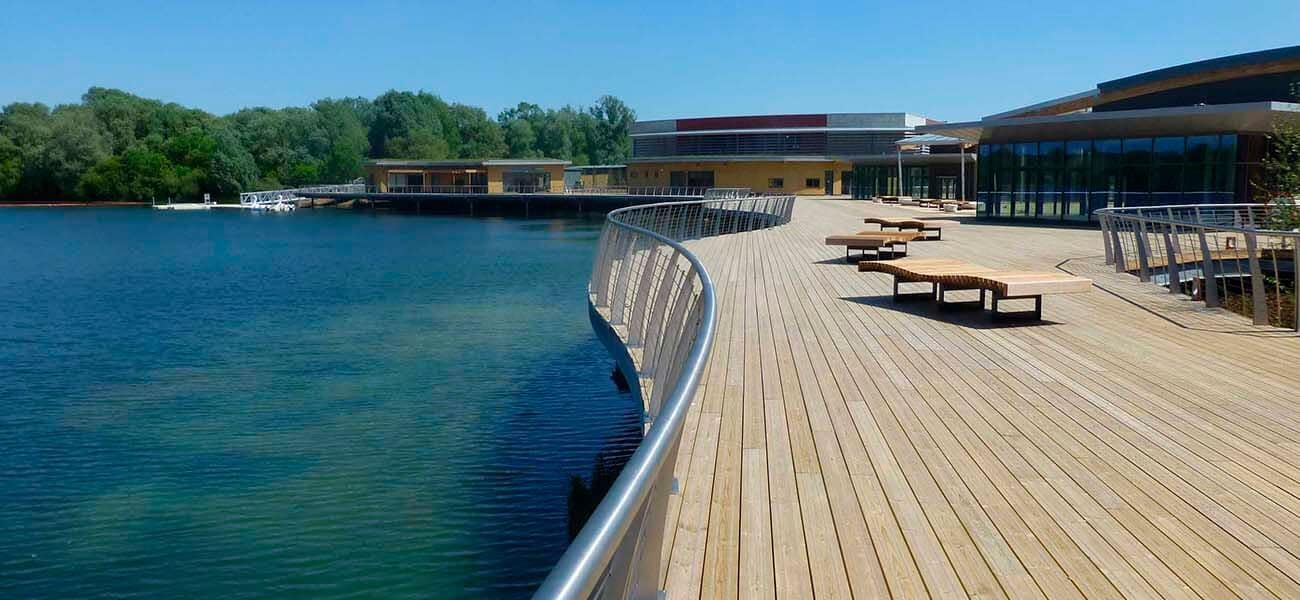 antislip plus smooth used on Rushden Lakes
