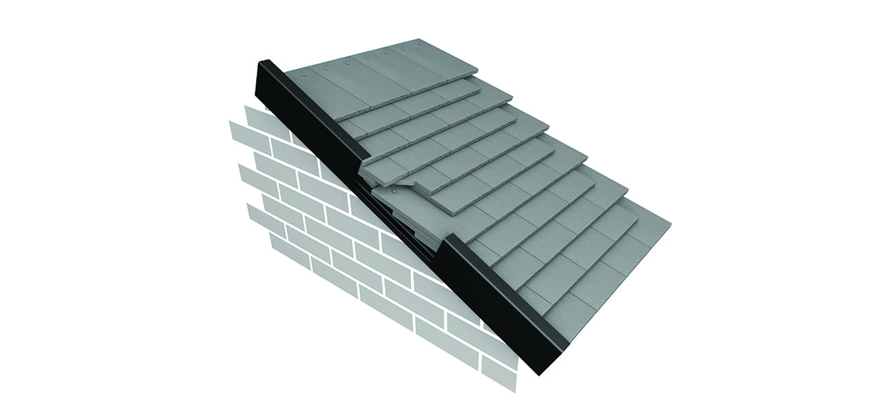 Marley Continous Dry Verge for use with Ashmore interlocking roof tiles
